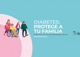 Poster del world diabetes day organization para 2019